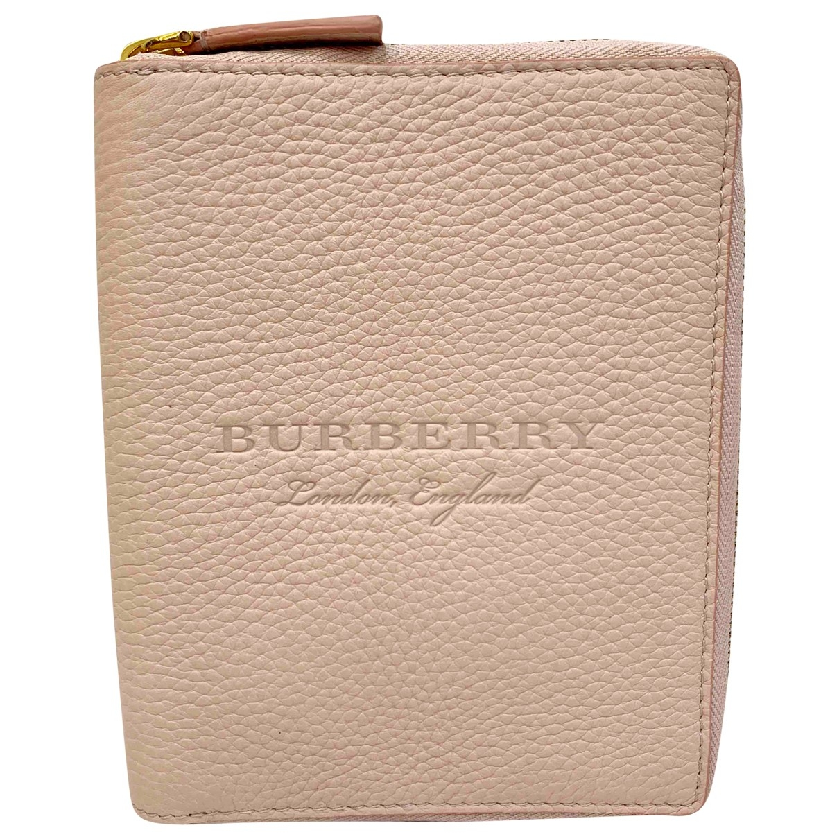 Burberry \N Pink Leather Purses, wallet & cases for Women \N