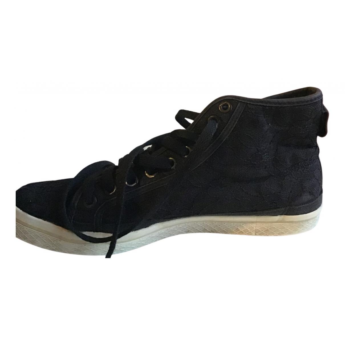 Adidas N Black Cloth Trainers for Women 40.5 EU