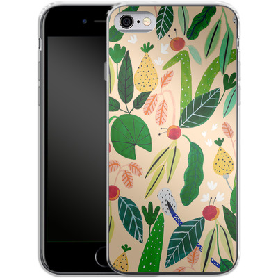 Apple iPhone 6 Silikon Handyhuelle - Tropical Greens von Iisa Monttinen