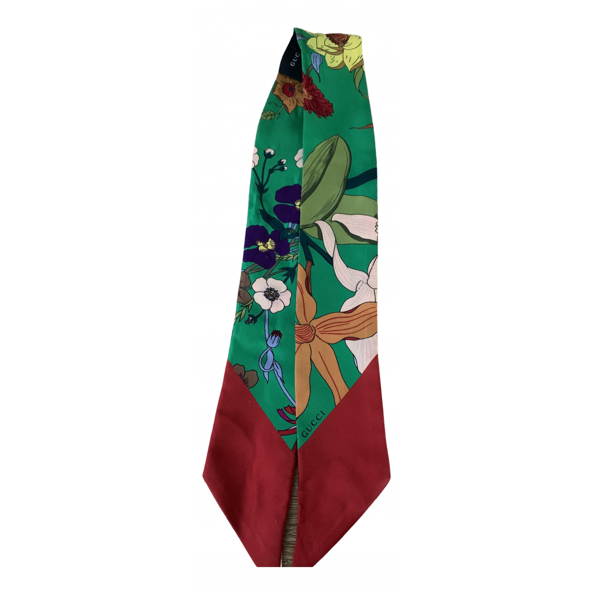 Gucci \N Green Silk scarf for Women \N