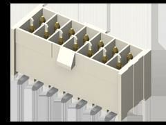 Samtec , IPL1, 6 Way, 1 Row, Right Angle PCB Header (34)