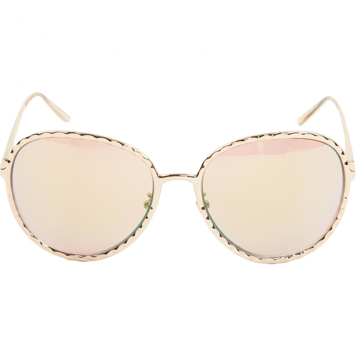 Nina Ricci \N Gold Metal Sunglasses for Women \N