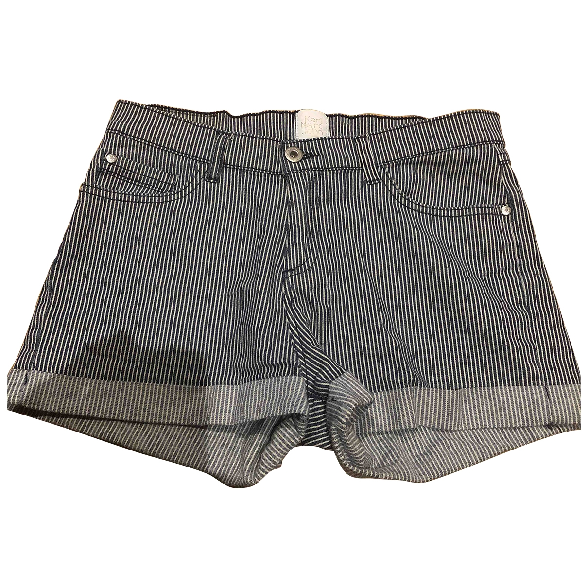 Karl Marc John \N Blue Cotton Shorts for Kids 14 years - S FR