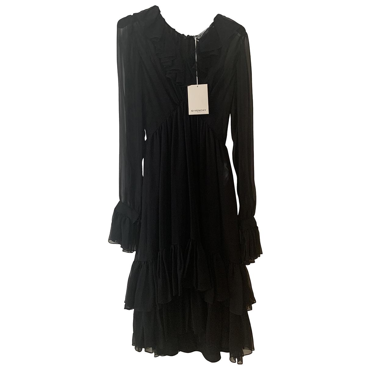 Givenchy \N Black Silk dress for Women 36 FR