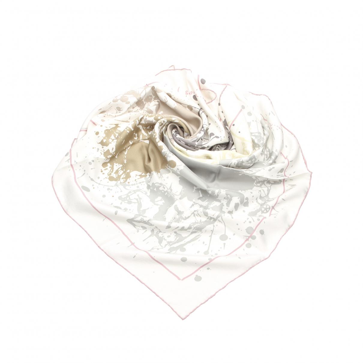 Hermes - Foulard   pour femme en autre - blanc