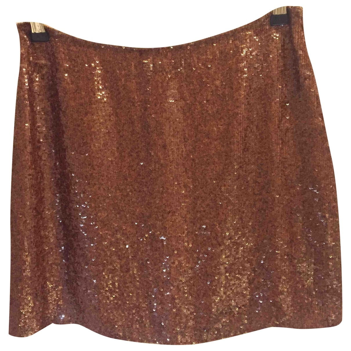 Ralph Lauren - Jupe   pour femme en soie - metallise