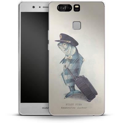 Huawei P9 Silikon Handyhuelle - The Pilot von Eric Fan
