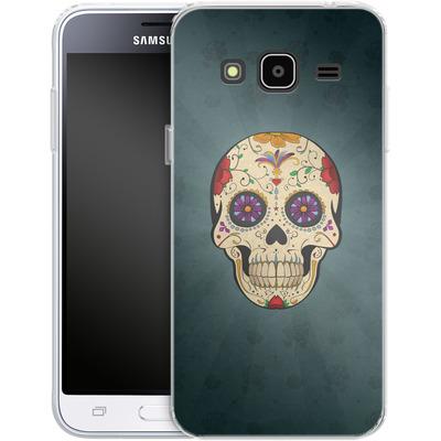 Samsung Galaxy J3 (2016) Silikon Handyhuelle - Dia de Muertos von SONY