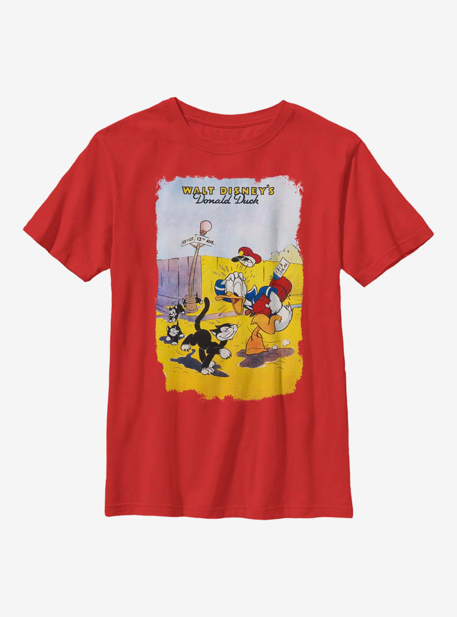 Disney Donald Duck Unlucky Duck Youth T-Shirt