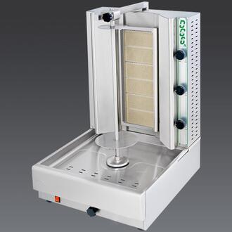 DG6A N Gas Gyros and Shawarma Machine 6 Burners with Thermostatic