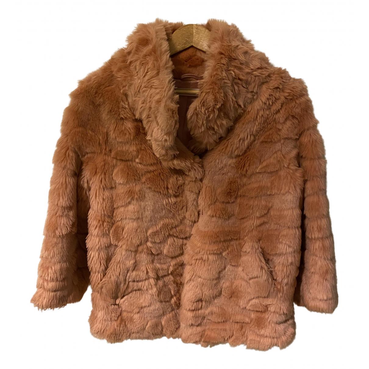 Twin Set N Pink Faux fur jacket for Women S International