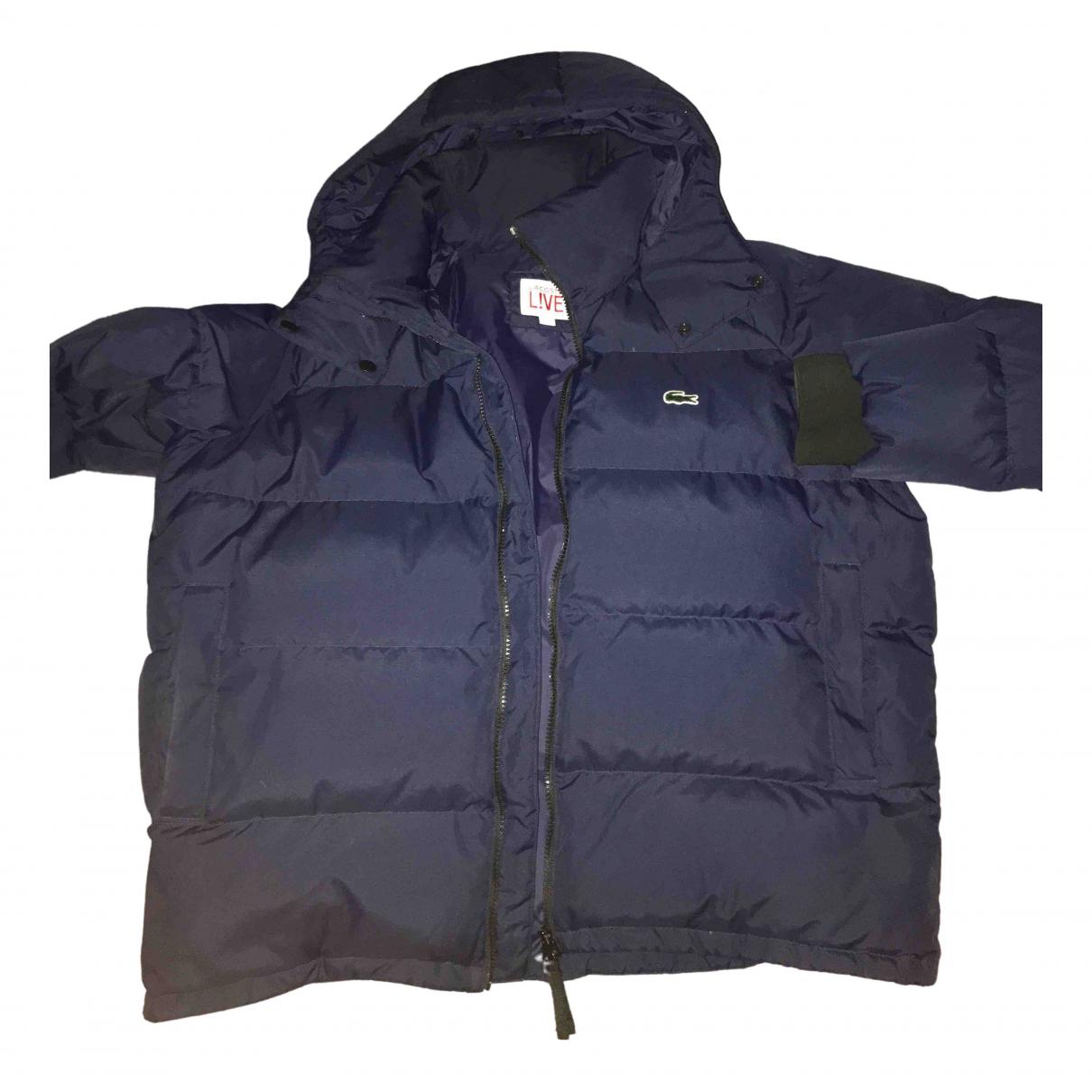 Lacoste - Manteau   pour homme - bleu