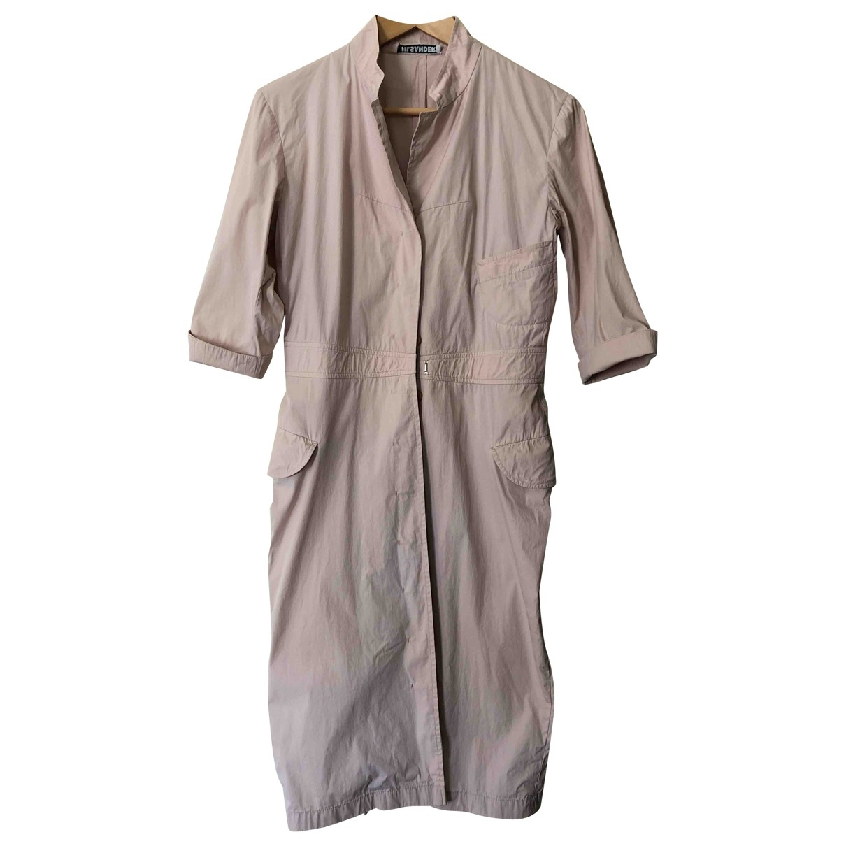 Jil Sander \N Pink Cotton dress for Women 40 FR