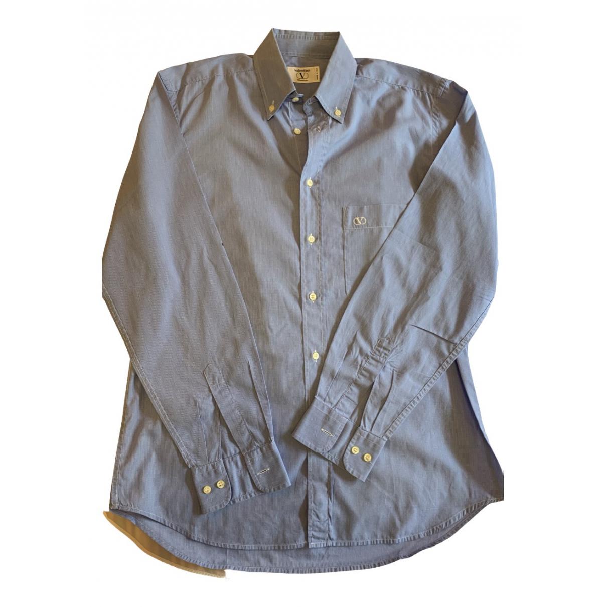 Valentino Garavani - Chemises   pour homme en coton - turquoise