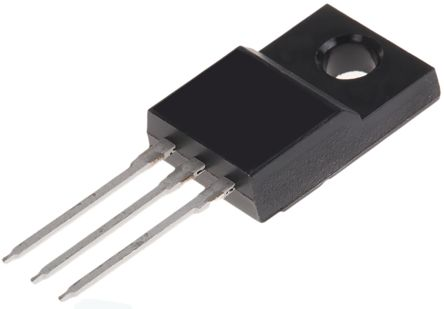 ON Semiconductor N-Channel MOSFET, 11 A, 800 V, 3-Pin TO-220F  FCPF400N80Z (5)