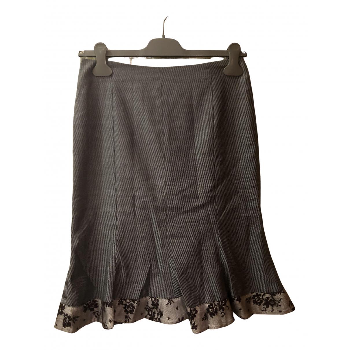 Rebecca Taylor N Blue Wool skirt for Women 000 0-5