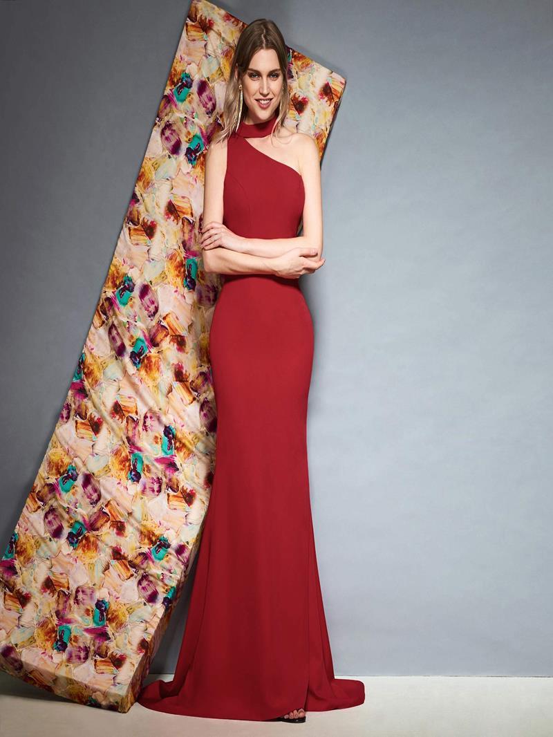 Ericdress Halter Red Mermaid Evening Dress