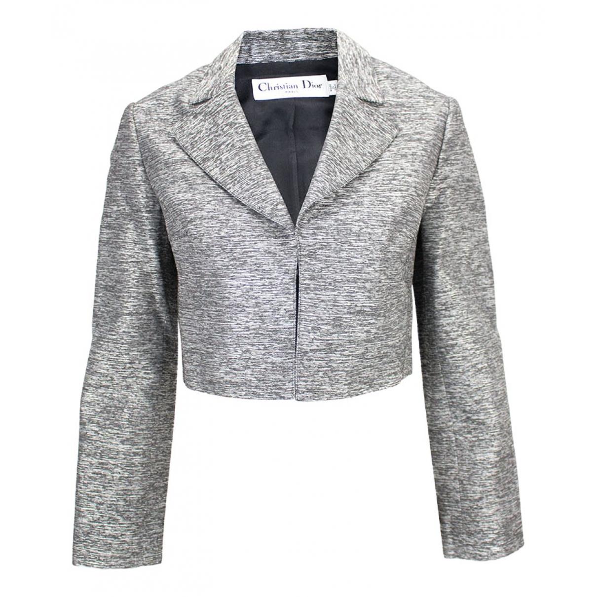 Christian Dior - Veste   pour femme - gris