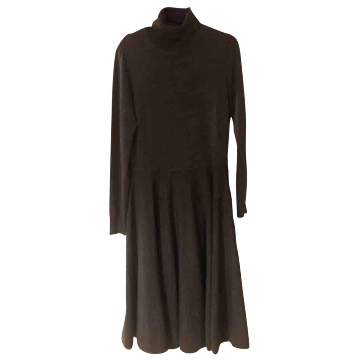 Lauren Ralph Lauren \N Kleid in  Grau Wolle