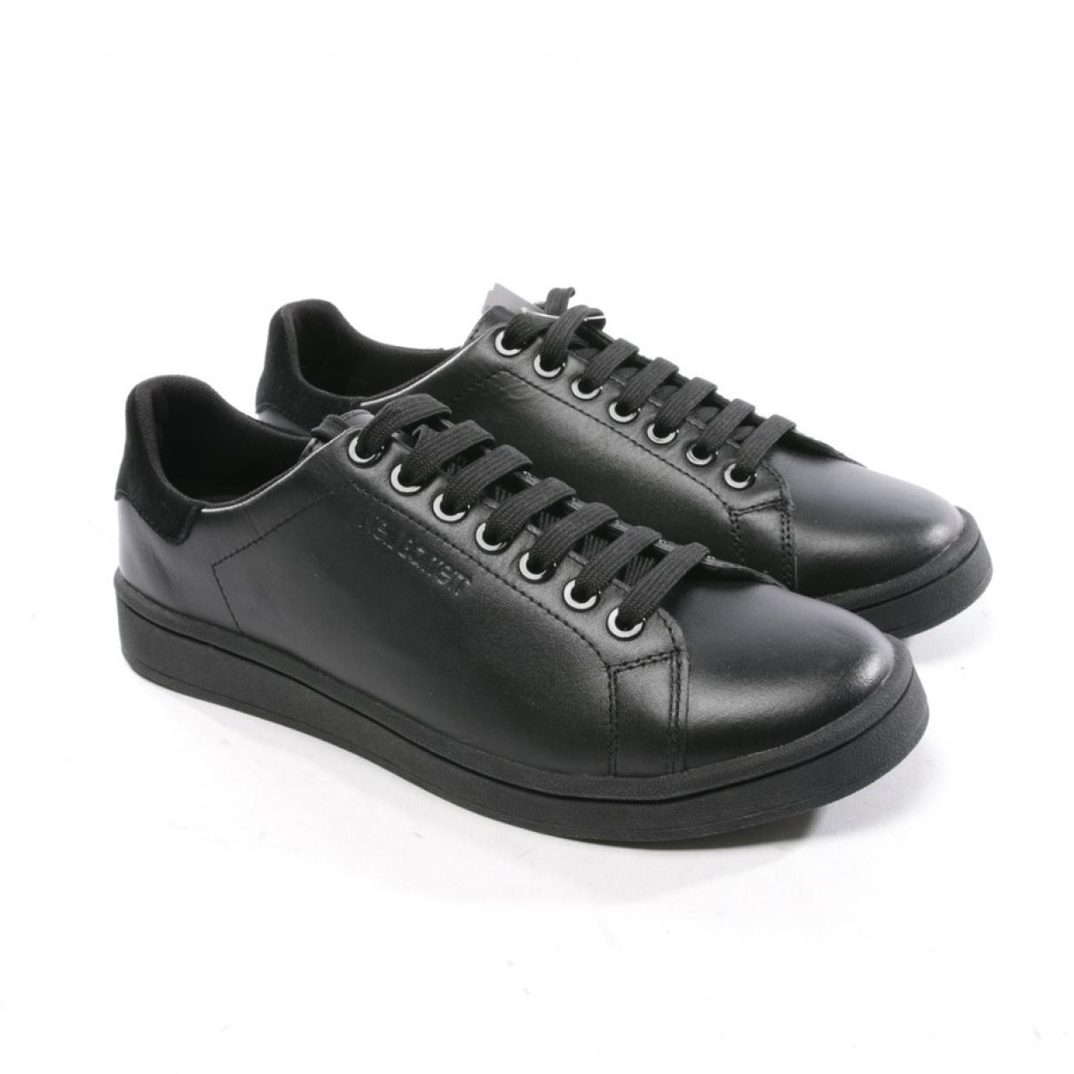 Neil Barrett \N Sneakers in  Schwarz Leder