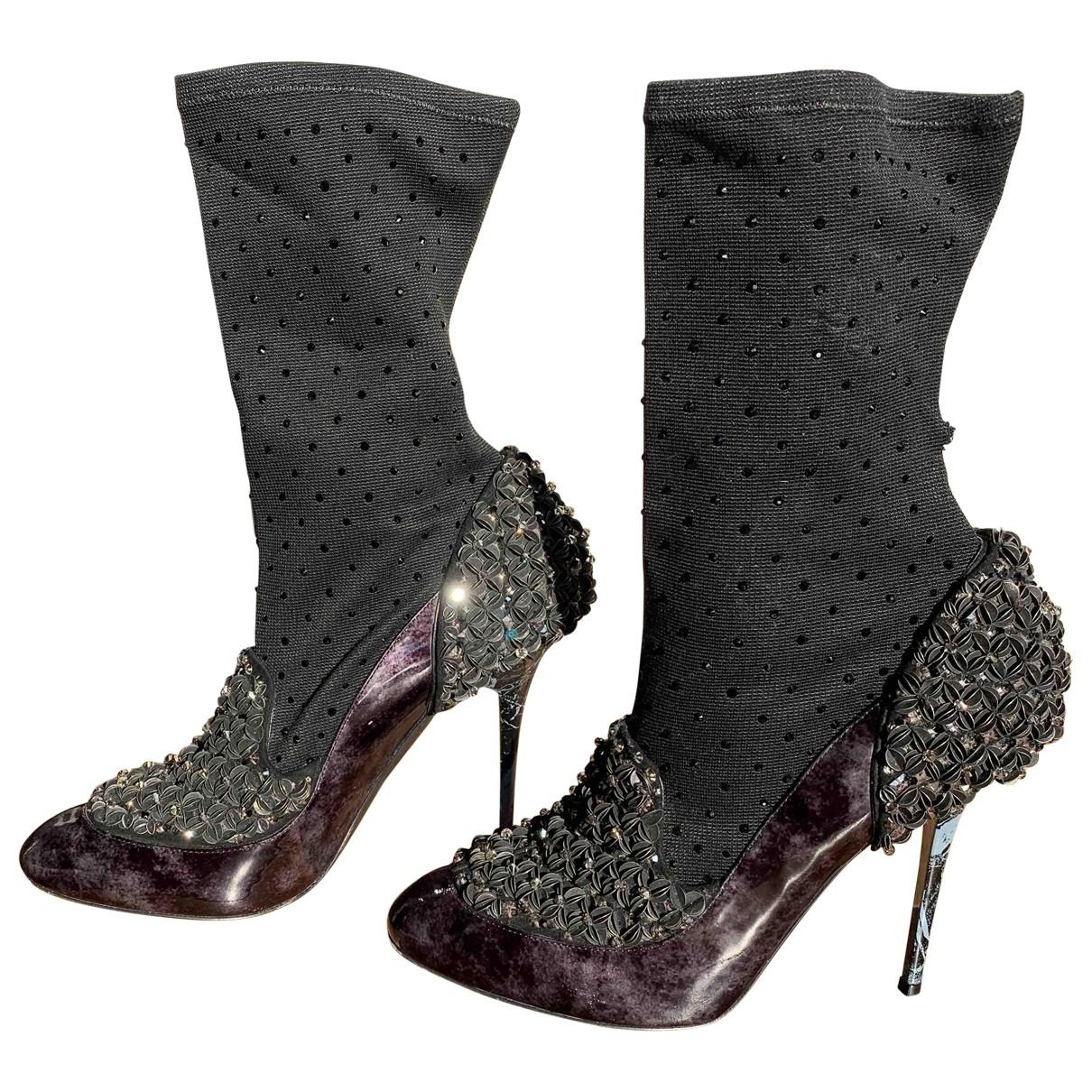 Jimmy Choo \N Black Ankle boots for Women 40 EU