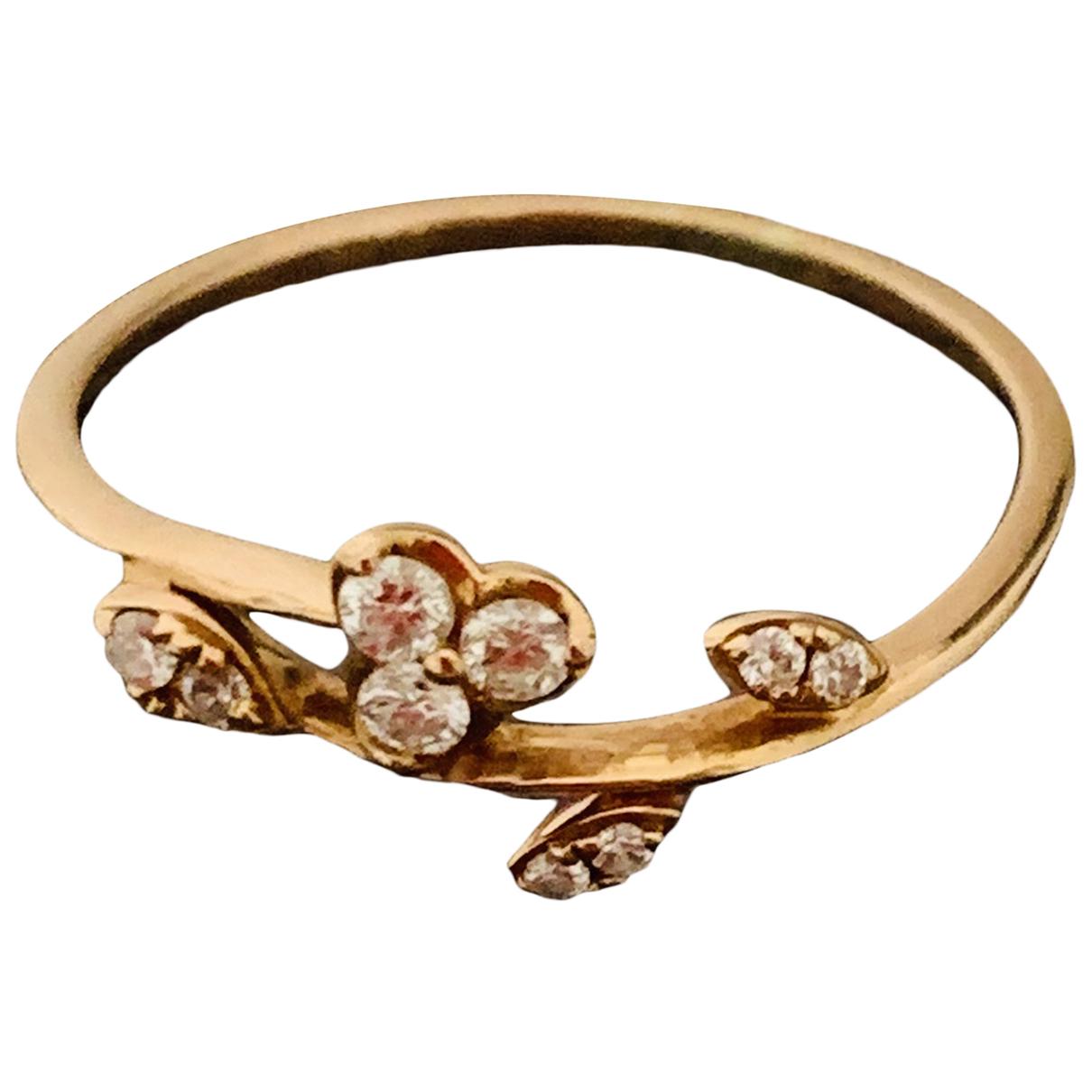 Diamonds & You - Bague   pour femme en or rose - rose