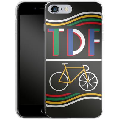 Apple iPhone 6s Plus Silikon Handyhuelle - TDF Bike von Le Tour de France