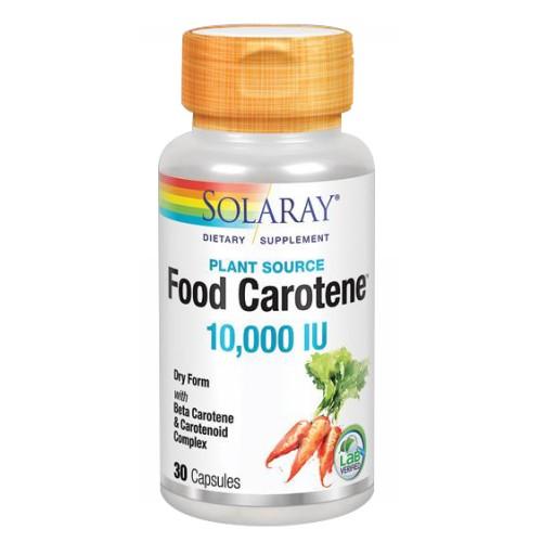 Food Carotene 30 Caps by Solaray