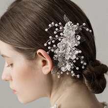 Floral Decor Hair Pin
