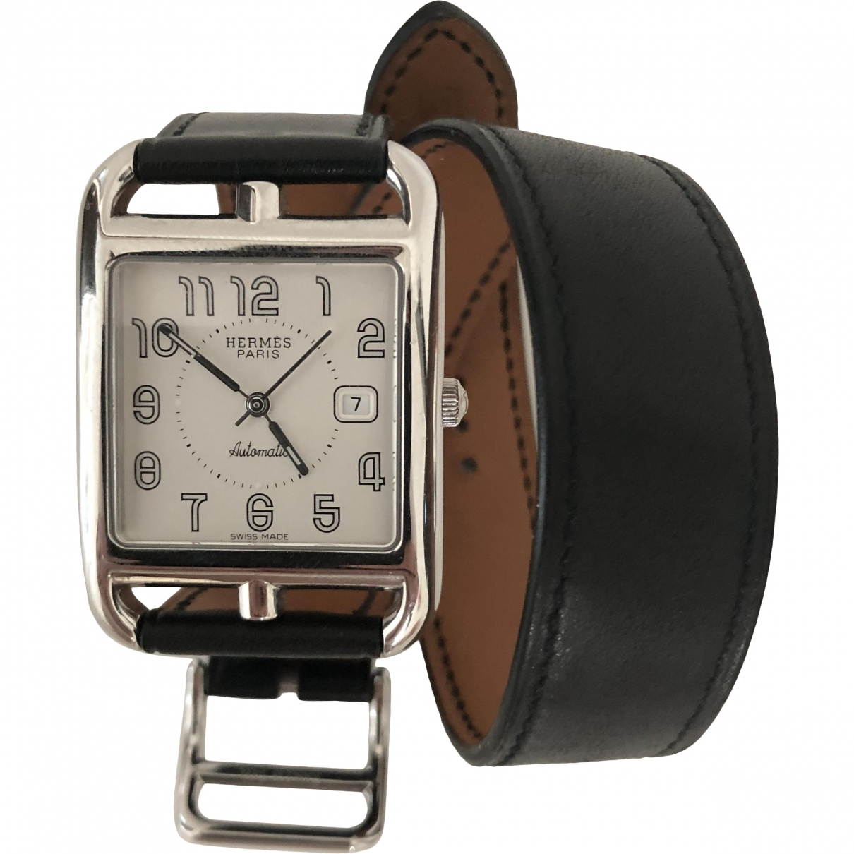Hermès Cape Cod TGM Steel watch for Men \N