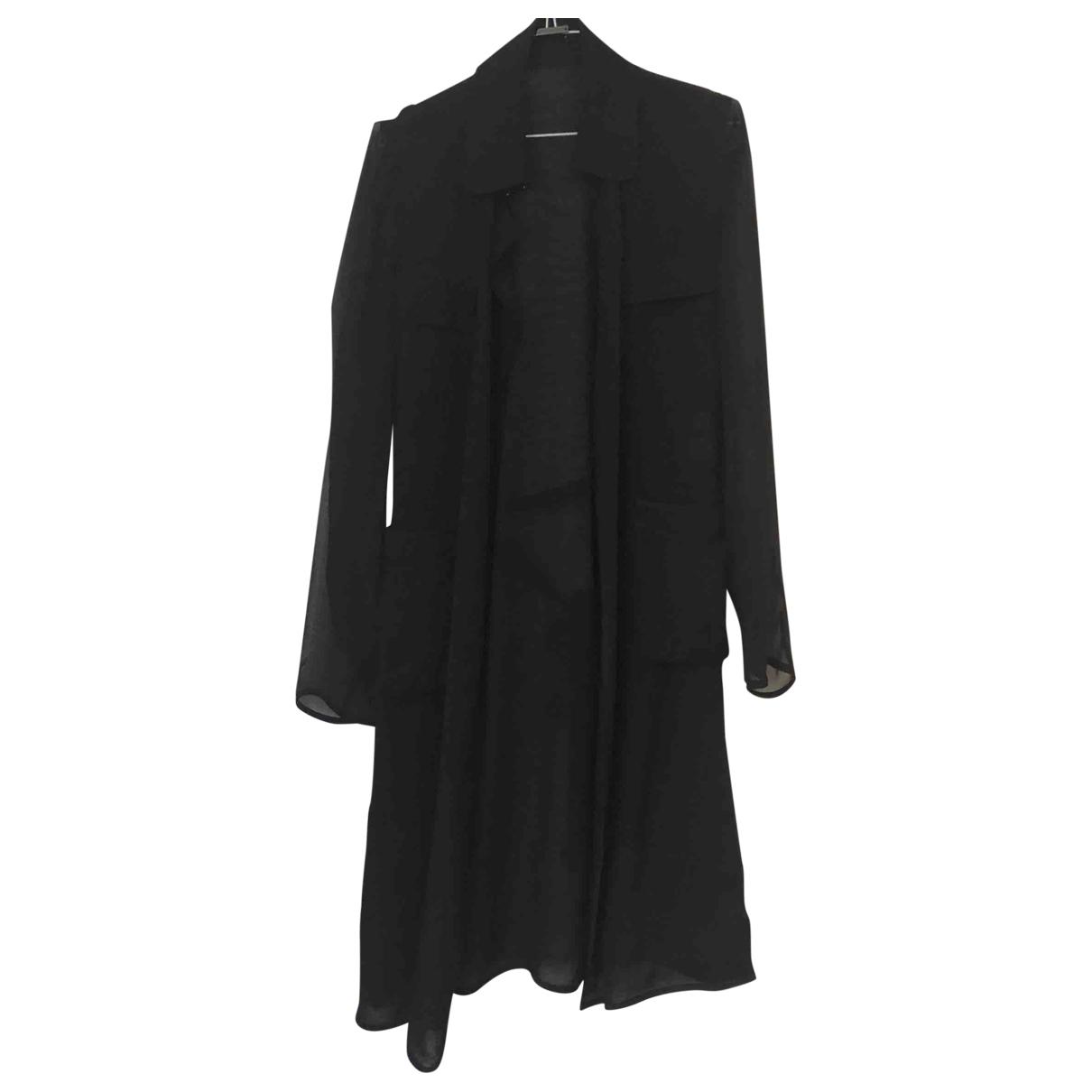 Diane Von Furstenberg - Trench   pour femme en soie - noir