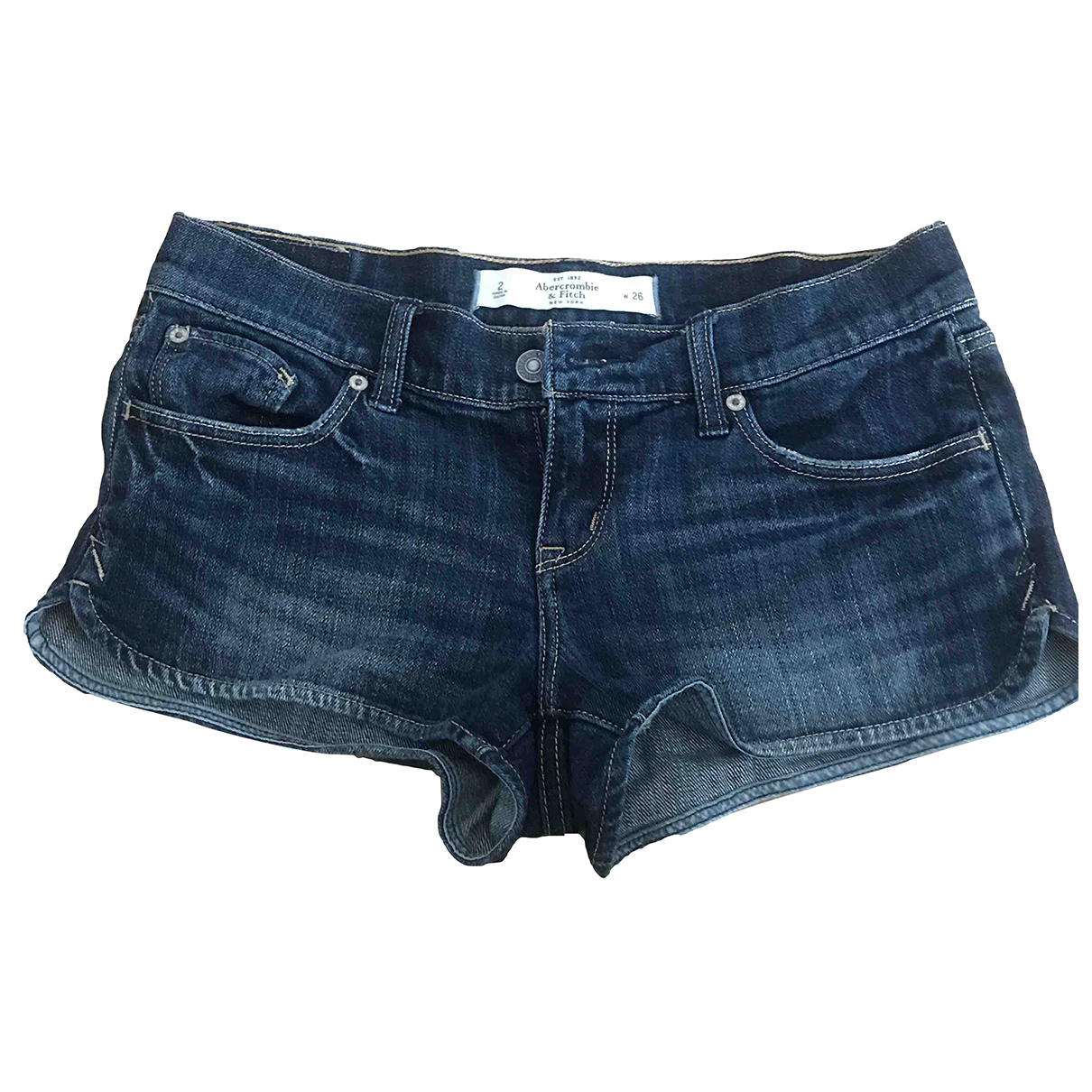 Abercrombie & Fitch \N Blue Cotton jumpsuit for Women 2 US