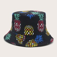 Pineapple Pattern Bucket Hat
