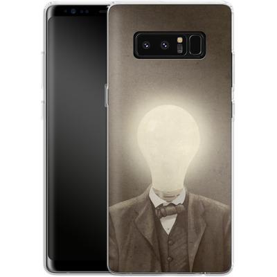 Samsung Galaxy Note 8 Silikon Handyhuelle - The Idea Man von Terry Fan