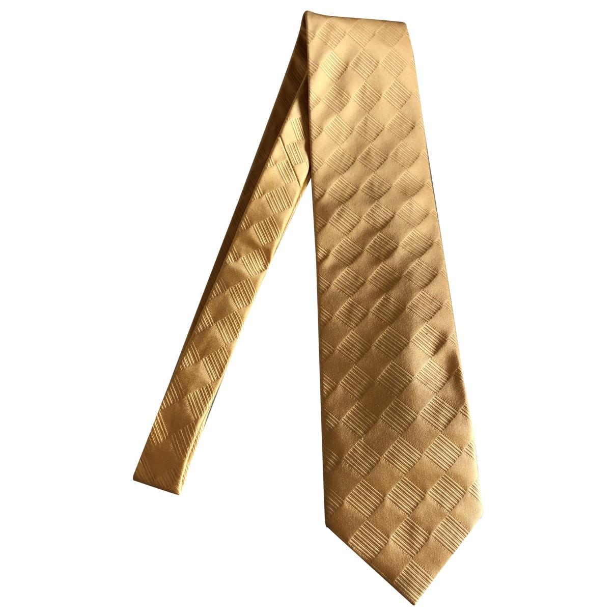 Zilli \N Krawatten in  Gelb Seide