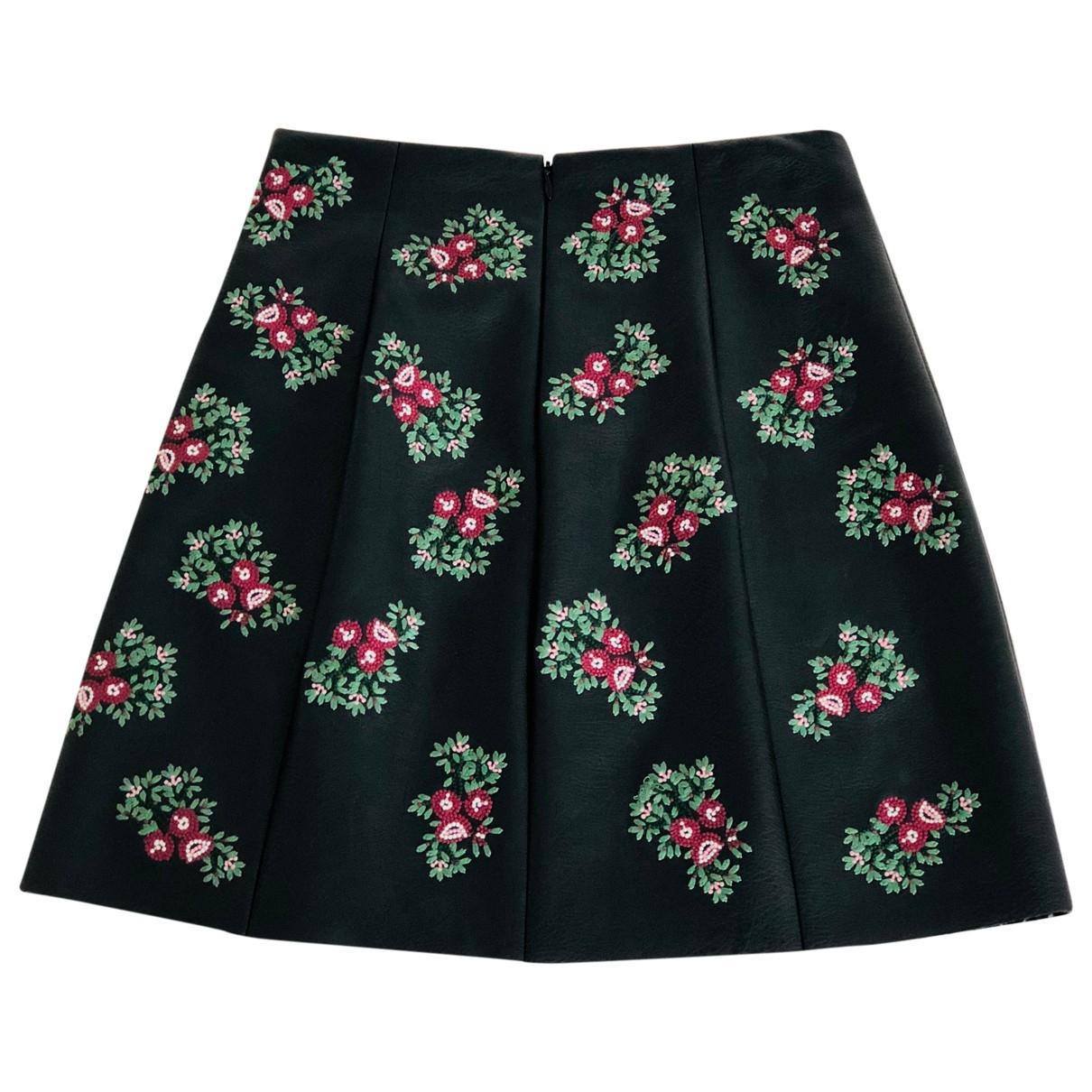 Mini falda de Cuero Club Monaco