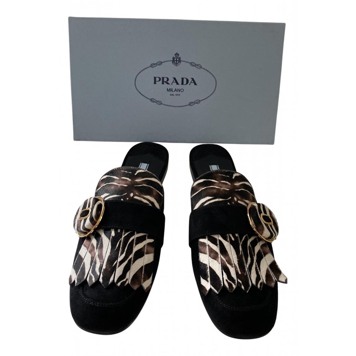 Prada - Sandales   pour femme en suede