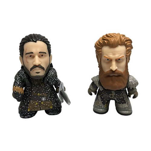 Game of Thrones Jon Snow and Tormund Snowy 3-Inch Titan Vinyl Figure 2-Pack - 2018 Convention Exclusive