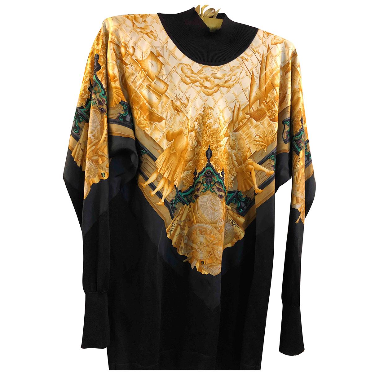 Hermès \N Yellow Silk Knitwear for Women 40 FR