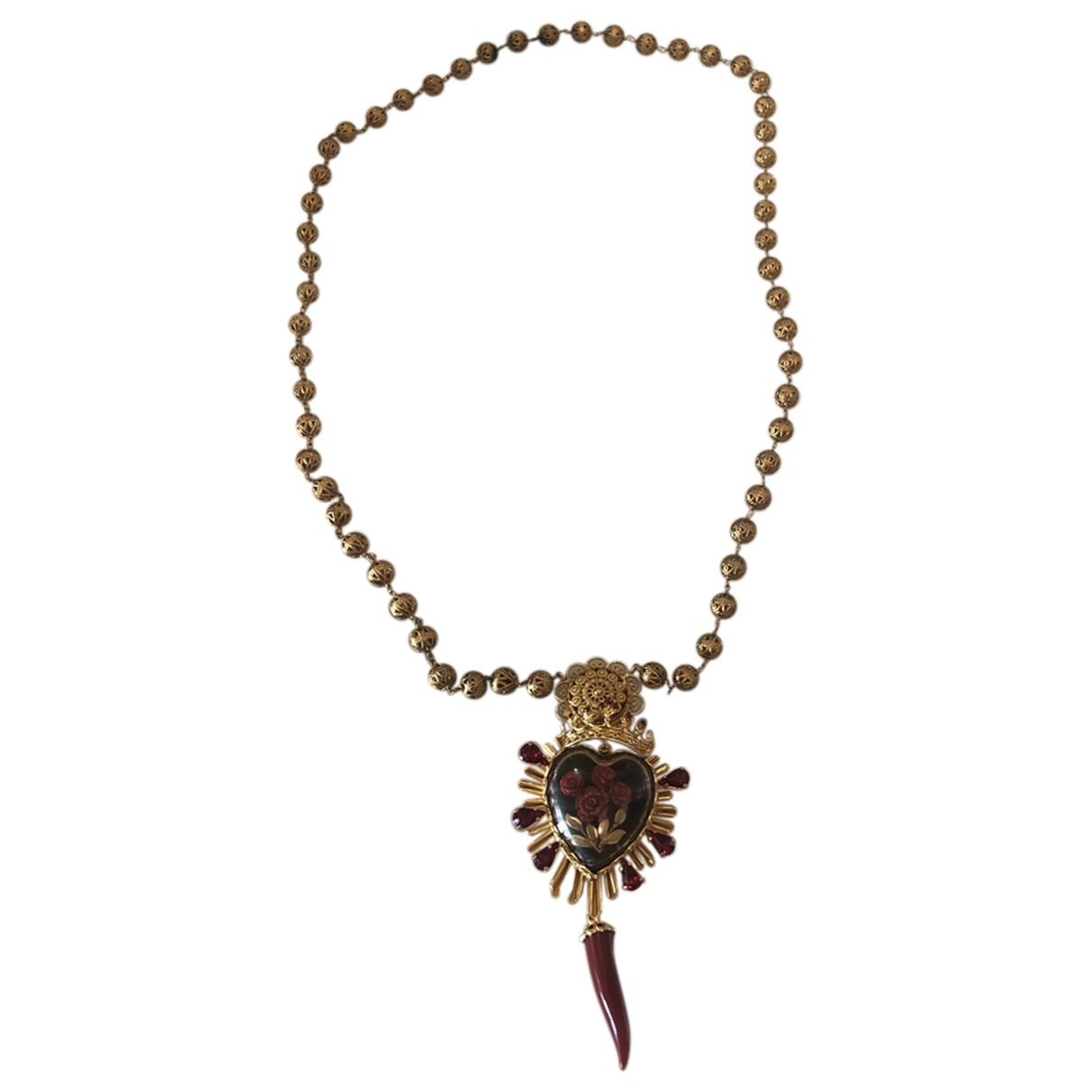 Dolce & Gabbana - Collier   pour femme en autre - dore