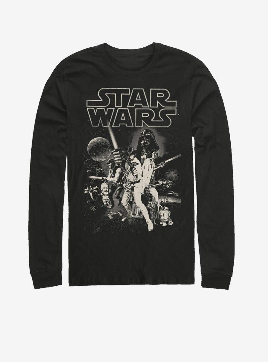 Star Wars Poster Long-Sleeve T-Shirt