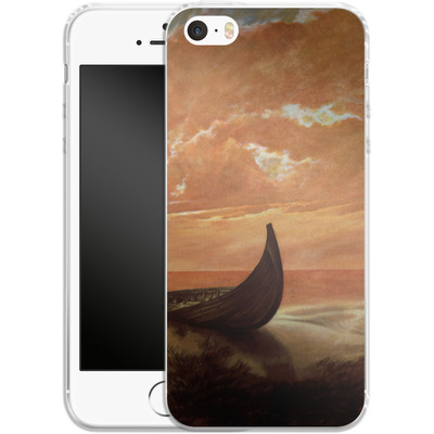 Apple iPhone 5s Silikon Handyhuelle - Bill Plank - Sunset Voyager von TATE and CO