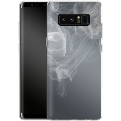 Samsung Galaxy Note 8 Silikon Handyhuelle - Smoking von caseable Designs
