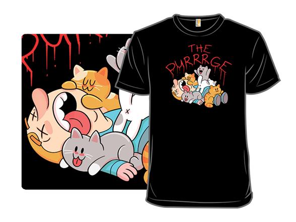 The Purrrge T Shirt