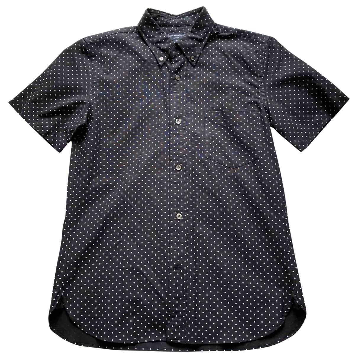 Comme Des Garcons - Chemises   pour homme en coton - noir