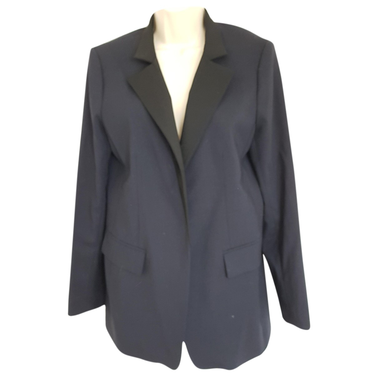 Sport Max N Navy Wool jacket for Women 16 UK