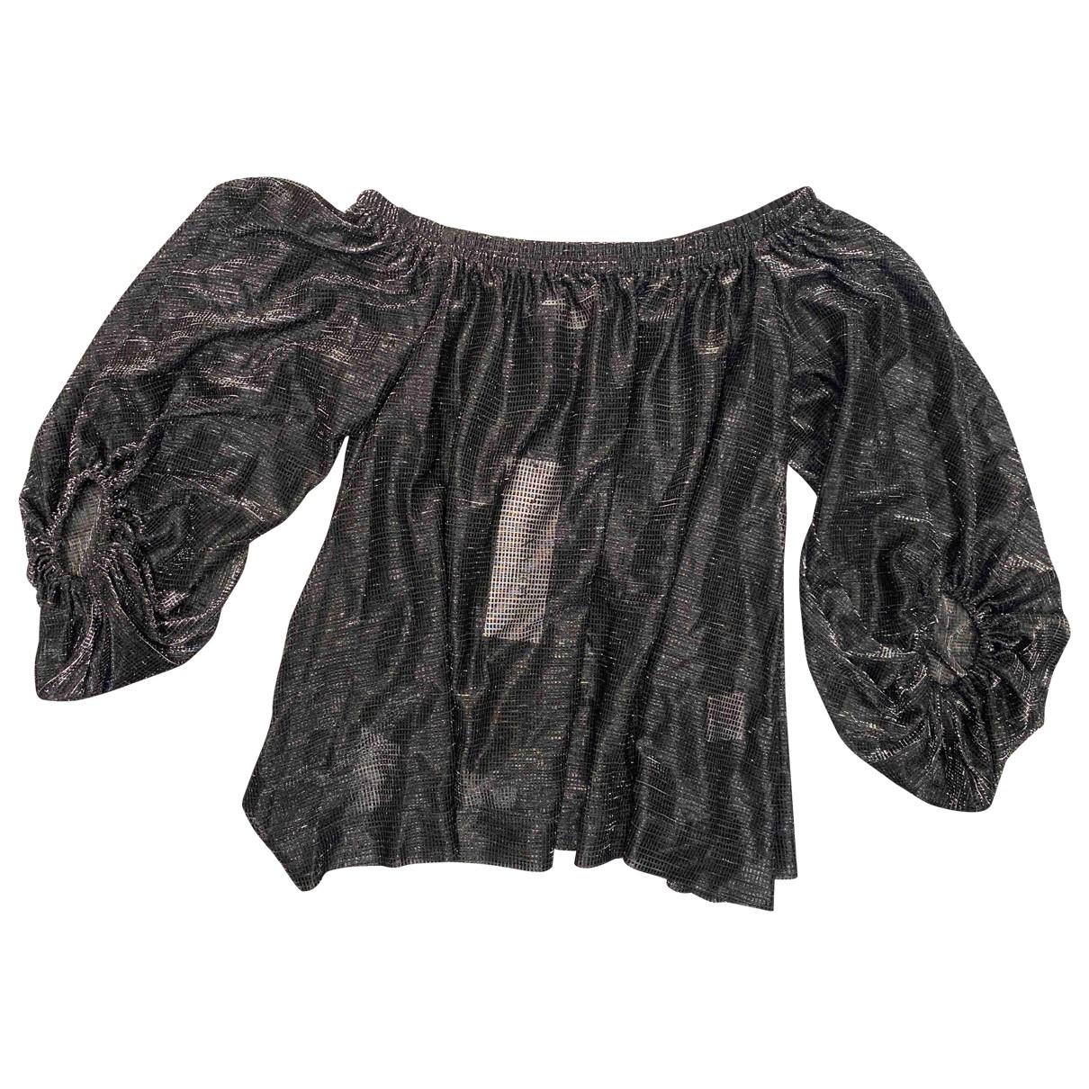 Shona Joy - Top   pour femme - metallise
