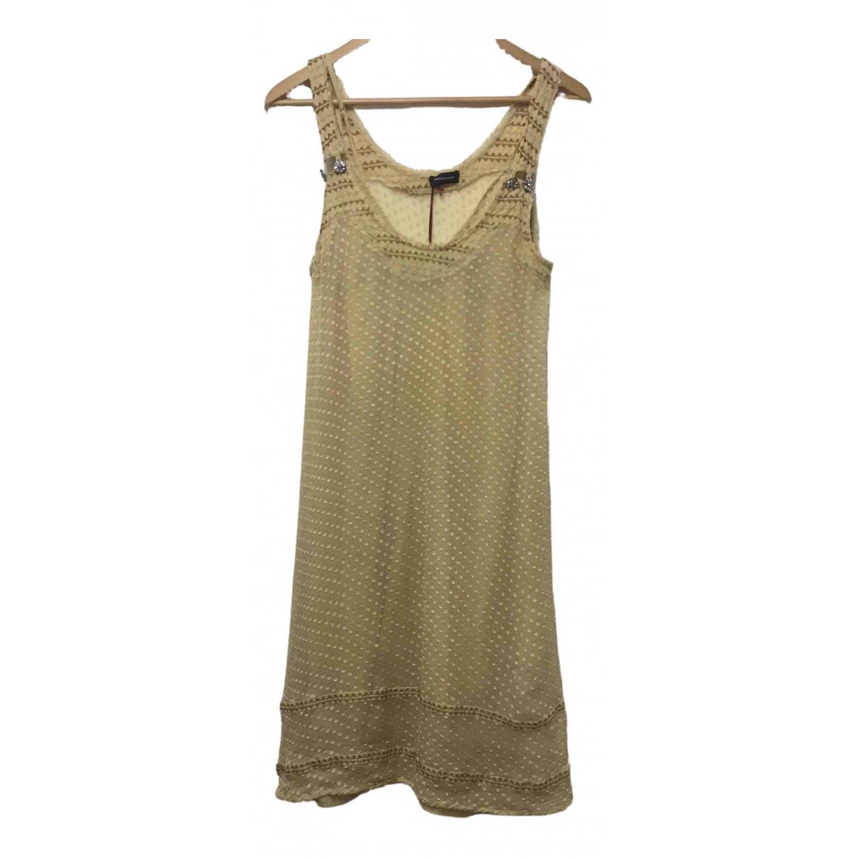 Bruuns Bazaar \N Kleid in  Beige Baumwolle