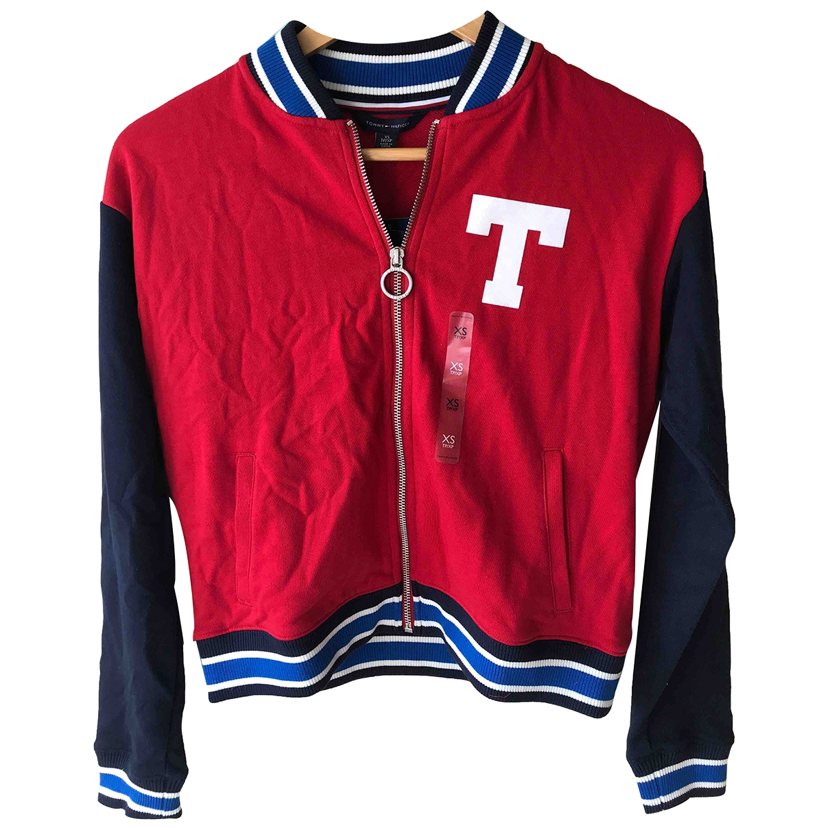 Tommy Hilfiger \N Red Cotton jacket for Women XS International