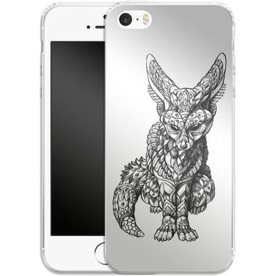 Apple iPhone 5 Silikon Handyhuelle - Fennec-Fox von BIOWORKZ